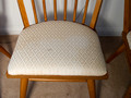 Sample:  all are in need of re-upholstery; they've been re-upholstered 2-3x