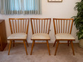Conant Ball #3 - set of 6 Russell Wright chairs (dirty upholstery)