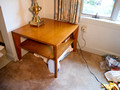 "Conant Ball #2 - table 30"" square (very good condition)"